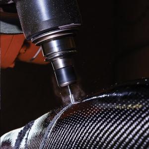 Cutting carbon orthotics
