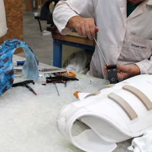 Motilo saddle brace assembly