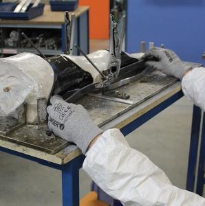 Assembling carbon orthotics