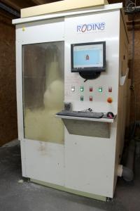 Milling polyurethane block