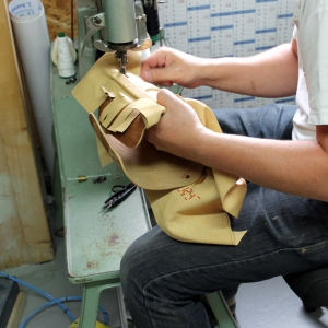 Leather trimming